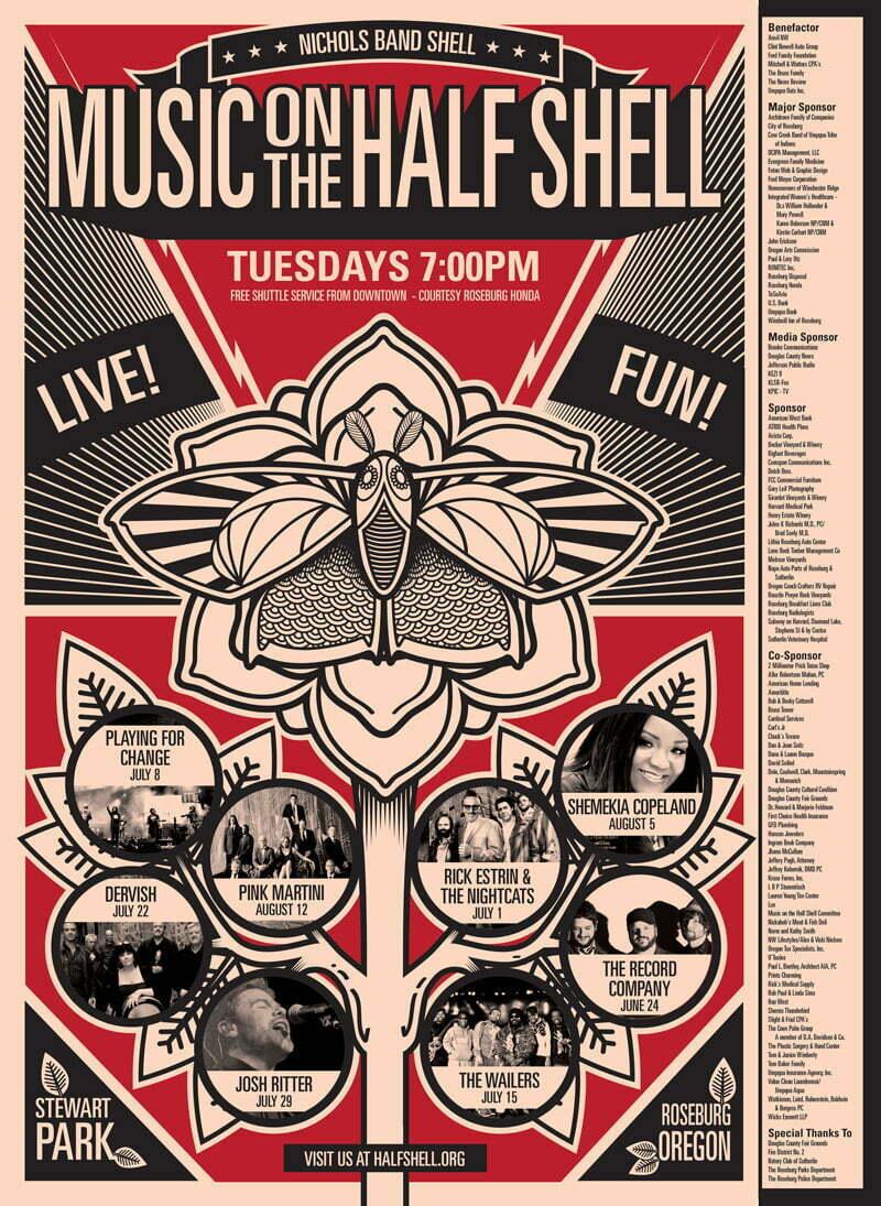 2014 Half Shell Poster