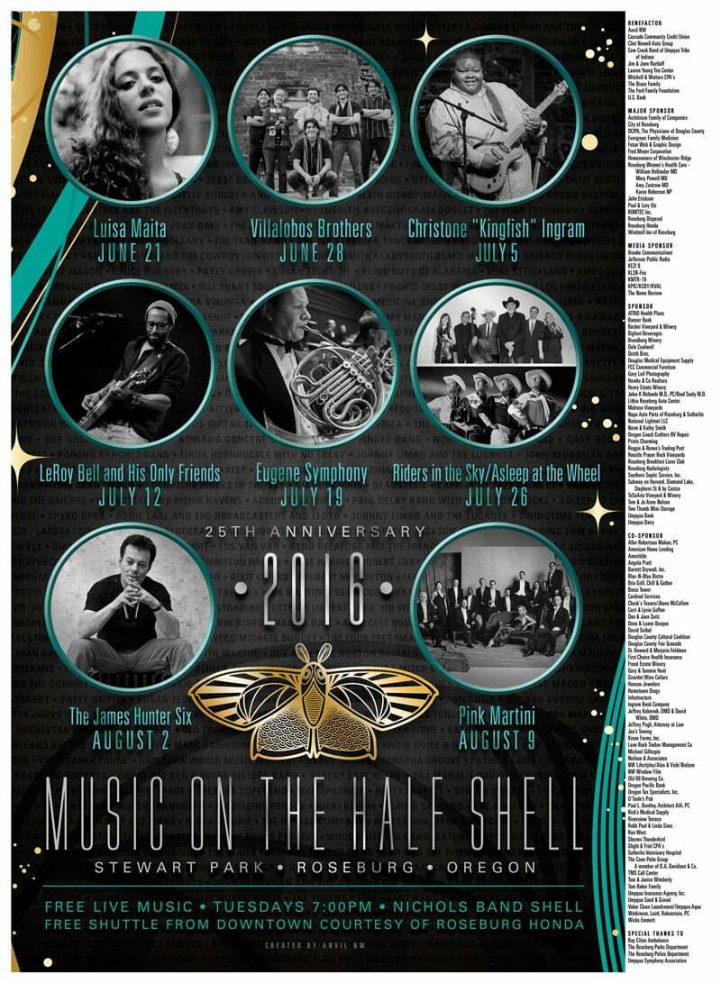 2016 Half Shell Poster