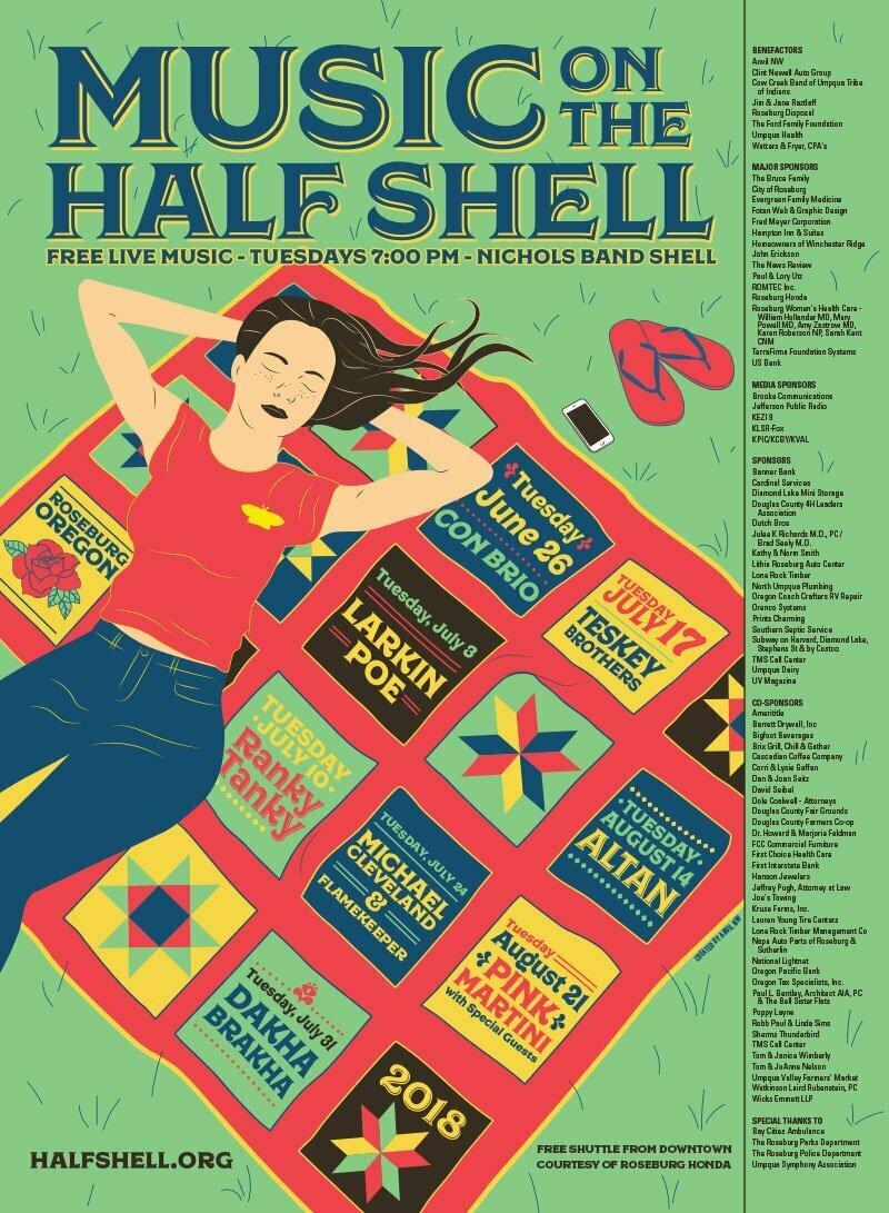 2018 Half Shell Poster