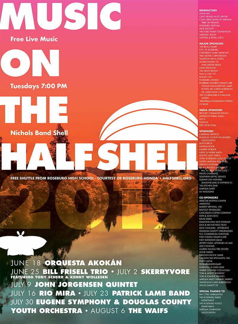 2019 Half Shell Poster