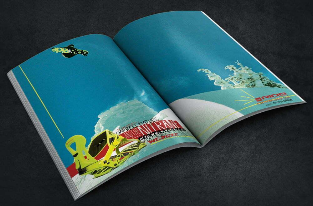 Ride Snowboards Magazine Ad
