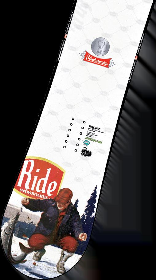 Slack Country Snowboard