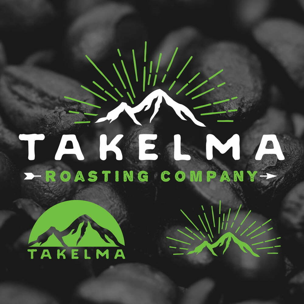 Takelma Logo and Branded Icons