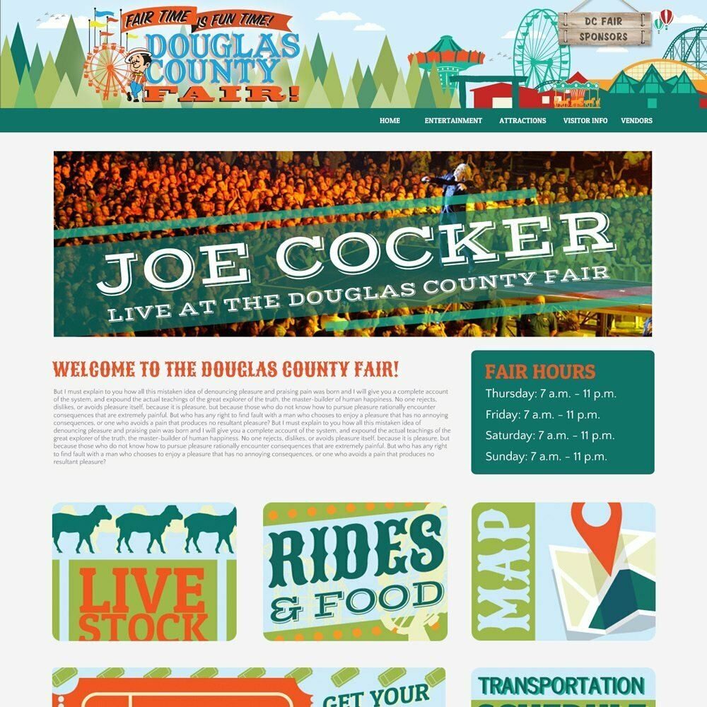 Douglas County Fair Homepage